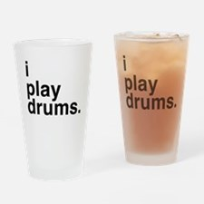 i play drums Drinking Glass