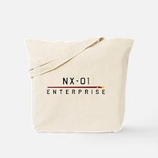 NX-01 Enterprise Dark Tote Bag