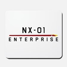 NX-01 Enterprise Dark Mousepad