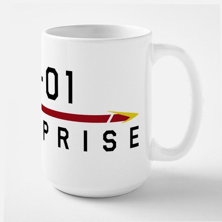 NX-01 Enterprise Dark Mug