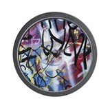 Graffiti Wall Clocks