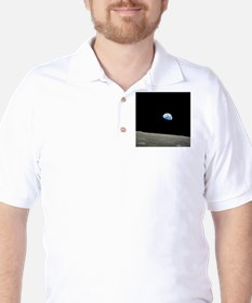 Earth Rise From Moon T-Shirt