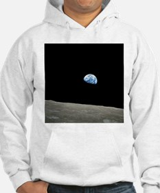 Earth Rise From Moon Hoodie