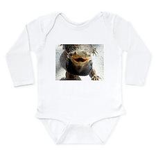 Bearded Dragon Long Sleeve Infant Bodysuit