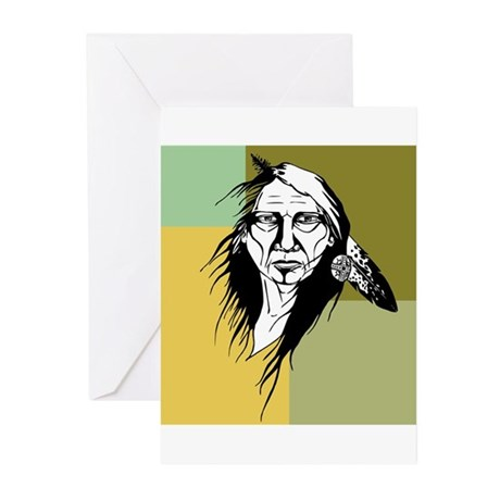 Native American Greeting Cards (Pk of 20)
