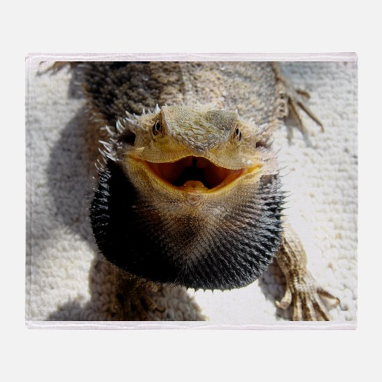 Bearded Dragon Throw Blanket