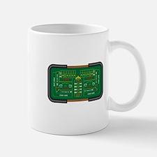 craps table Mug