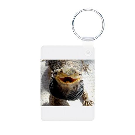 Bearded Dragon Aluminum Photo Keychain