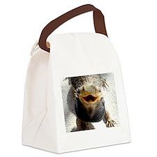 Bearded Dragon Canvas Lunch Bag