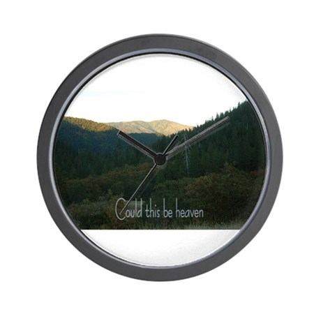 Could this be heaven Wall Clock