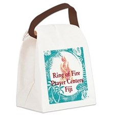 Ring of Fire Island Fire Canvas Lunch Bag
