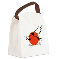 Ring of Fire Eagle Canvas Lunch Bag