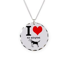 On Sale - Adopted Dog Necklace
