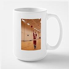 Basketball Santa Large Mug