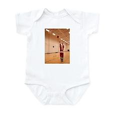Basketball Santa Infant Bodysuit
