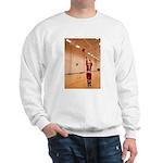 Basketball Santa Sweatshirt