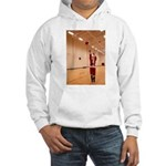 Basketball Santa Hooded Sweatshirt