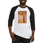 Basketball Santa Baseball Jersey