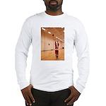 Basketball Santa Long Sleeve T-Shirt