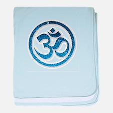 Om Symbol baby blanket