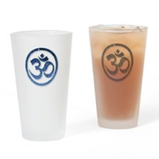 Om Symbol Drinking Glass