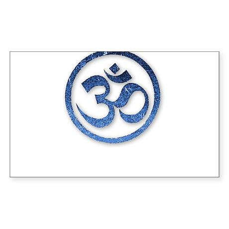 Om Symbol Sticker (Rectangle)