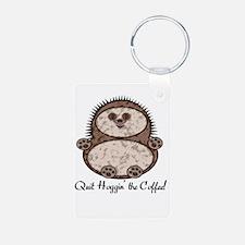 Hedgehoggin' the Coffee! Keychains