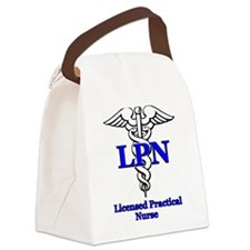 lpn b.psd Canvas Lunch Bag