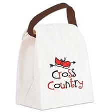 Cross Country Shoe Canvas Lunch Bag