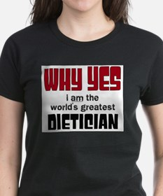 World's Greatest Dietician T-Shirt