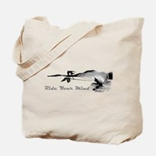 ride your mind waterski swallows Tote Bag
