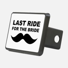 LAST RIDE FOR THE BRIDE Rectangular Hitch Cover
