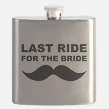 LAST RIDE FOR THE BRIDE Flask