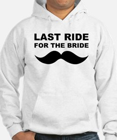 LAST RIDE FOR THE BRIDE Jumper Hoody