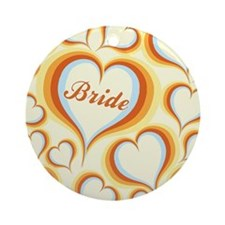 GROOVY BRIDE Ornament (Round)