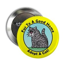 """Holly's Kittys 2.25"""" Button (10 pack)"""