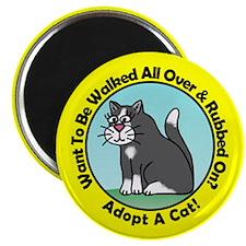 """Holly's Kittys 2.25"""" Magnet (10 pack)"""