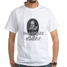 Shakespeare Is My Homeboy Men's T-Shirt Shirt