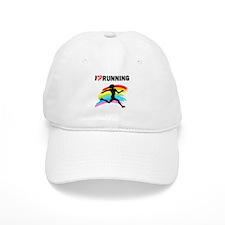 I LOVE RUNNING Baseball Cap