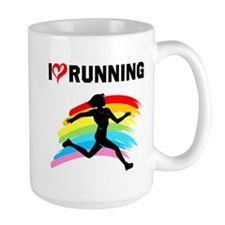 I LOVE RUNNING Mug