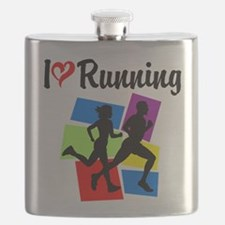 I LOVE RUNNING Flask