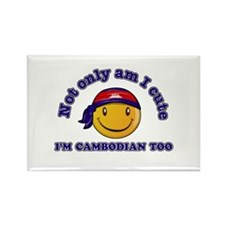 Cute and Cambodian Rectangle Magnet