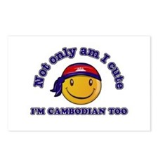 Cute and Cambodian Postcards (Package of 8)