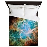 Crab nebula Duvet Covers