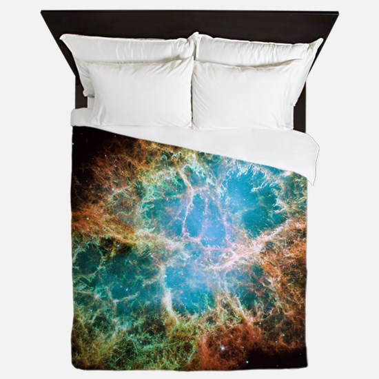 Crab Nebula (High Res) Queen Duvet