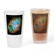 Crab Nebula (High Res) Drinking Glass
