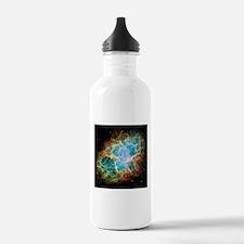 Crab Nebula (High Res) Water Bottle