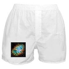 Crab Nebula (High Res) Boxer Shorts