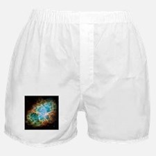 Crab Nebula (High Res) Boxer Shorts