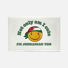 Cute and Jordanian Rectangle Magnet